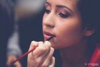 robienie make-upu